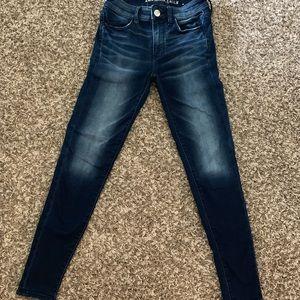 AE high waisted jeans